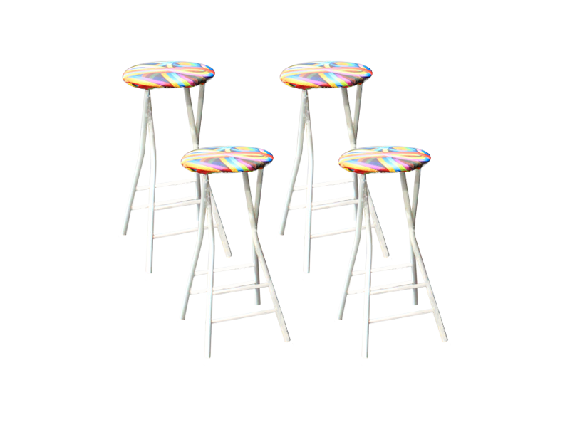 Foldable bar stools