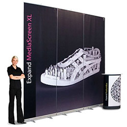 MediaScreen XL Large Retractable Banner Stands