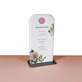 Slim Stand Mini Tabletop Banner Stand