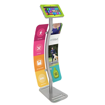 Expo Stands Kioski : Tablet ipad and surface custom kiosks and display stands