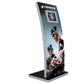 Expo Stands Kioska : Tablet ipad and surface custom kiosks and display stands