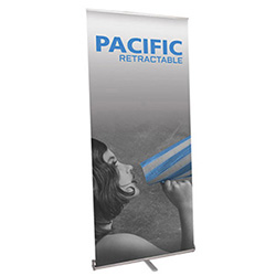 Pacific 31 retractable banner stand