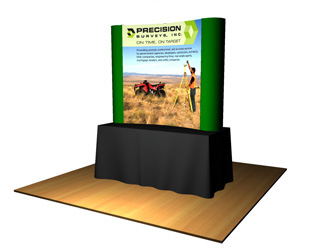 popup tabletop display
