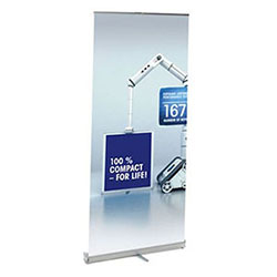 RollUp Compact Retractable Banner Stand