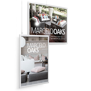 Perfex Hanging Sign Frames