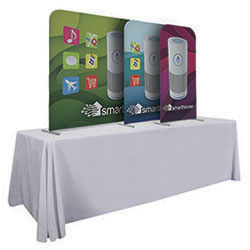 EuroFit Stretch Fabric Tabletop Displays 3pc