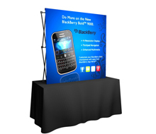 Tension Fabric Pop-Up Displays