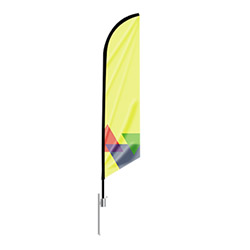 Blade Outdoor Flag Stand