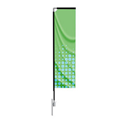 Rectangle Outdoor Flag Stand