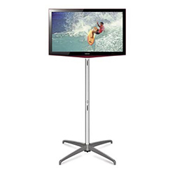 Expand Flat Panel Monitor Stand XL in Silver