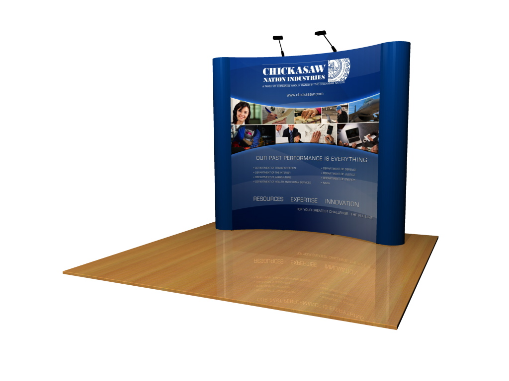 Tension Fabric Exhibition Stands : Custom pop up displays arts
