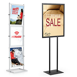 Sign Displays And Stands